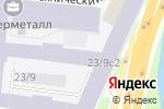 Схема проезда до компании Olive-touch в Москве
