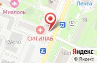 Схема проезда до компании Сириус в Москве