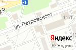 Схема проезда до компании Текстильщик-2015 в Донецке