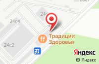 Схема проезда до компании Психотерапия в Москве