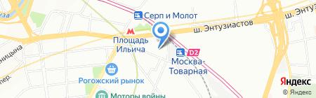 Вита Лайт на карте Москвы