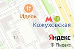 Схема проезда до компании Северная долина в Москве