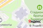 Схема проезда до компании Средняя общеобразовательная школа №1282 с углубленным изучением английского языка в Москве
