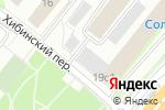 Схема проезда до компании IMATTRESS в Москве
