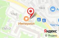 Схема проезда до компании Каменная Палитра в Москве