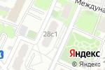 Схема проезда до компании Астом в Москве