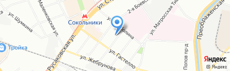 Трансмаш на карте Москвы