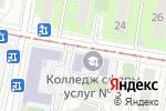 Схема проезда до компании Шоколатье в Москве