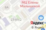 Схема проезда до компании Oktell в Москве