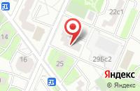 Схема проезда до компании Архдизайн Акцент в Москве