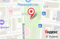 Схема проезда до компании Киностудия  в Москве