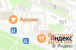 Схема проезда до компании Бизнес Сервис в Москве