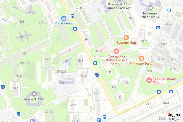 Ремонт телевизоров Улица Затонная на яндекс карте