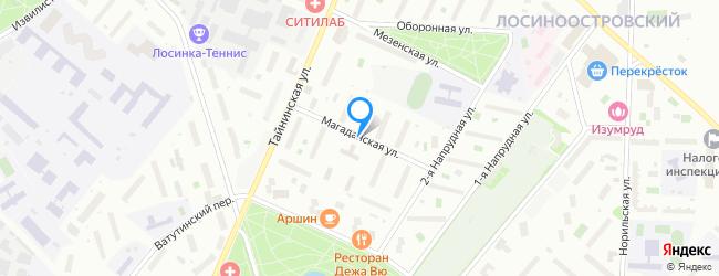 Магаданская улица