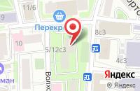 Схема проезда до компании Скайбак в Москве