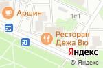 Схема проезда до компании Дежа Вю в Москве