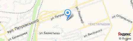Школа искусств №5 на карте Донецка