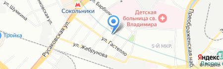 Средняя общеобразовательная школа №369 на карте Москвы