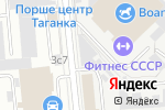 Схема проезда до компании Кантина в Москве