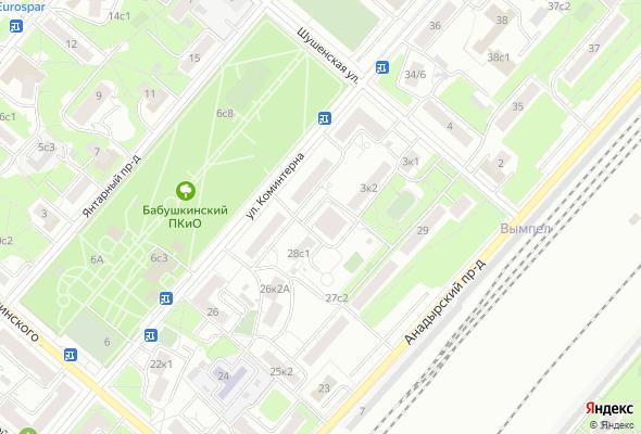 ЖК Бабушкинский Парк (Мос-Анжелес)