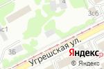 Схема проезда до компании Эрмано в Москве