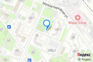 Снять двухкомнатную квартиру в Москве Международная ул., 22с2
