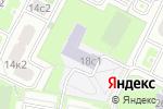 Схема проезда до компании Средняя общеобразовательная школа №396 в Москве