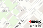 Схема проезда до компании Мускул, РОО в Москве