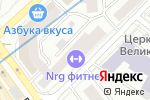Схема проезда до компании Бьюти-Фрутти в Москве