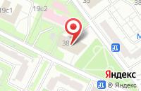 Схема проезда до компании Будь здоров! в Подольске