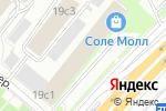 Схема проезда до компании Салон дверей и арок в Москве