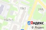 Схема проезда до компании Ромашка КО в Москве