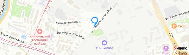 улица Золоторожский Вал