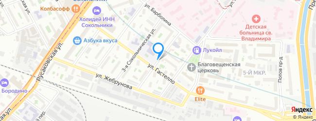 улица Сокольническая 4-я