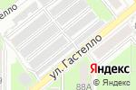 Схема проезда до компании Гаражно-потребительский кооператив №8 в Туле