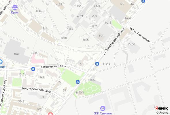 жилой комплекс Золоторожский