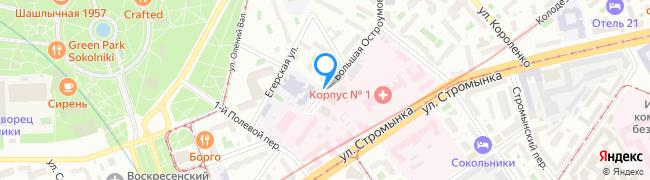 Большая Остроумовская улица