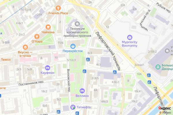 Ремонт телевизоров Улица Малая Почтовая на яндекс карте