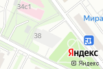 Схема проезда до компании Арт-этаж Шоколадная Фабрика в Москве