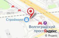 Схема проезда до компании Мастер-Бур в Москве