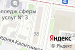 Схема проезда до компании Лама-Пл в Москве