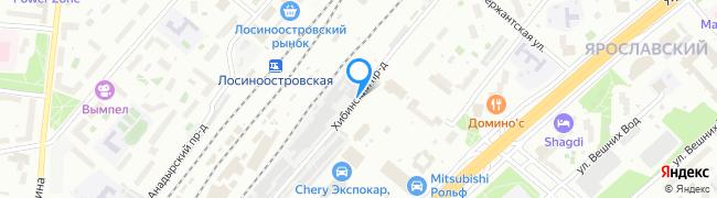Хибинский проезд