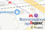 Схема проезда до компании На Новоостаповской в Москве