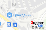 Схема проезда до компании Оскар 03 в Москве