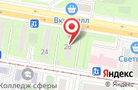 Схема проезда до компании Деловой Альянс в Москве