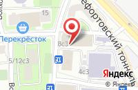 Схема проезда до компании Гельветика-Принт в Москве