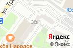 Схема проезда до компании Пластгрупп в Москве