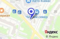 Схема проезда до компании СТО ГРАЖДАНИН в Москве