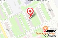 Схема проезда до компании Энтеро в Москве