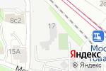 Схема проезда до компании Управление кабельных сетей МКС в Москве